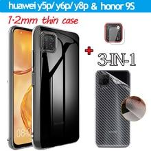 4.5чехол, Case huawei y5p y6p y8p Honor 9S  Back Film Cover Huawei Y8P Huaweiy5p case Honor9s Ultra-Thin Cases in Honor-9S