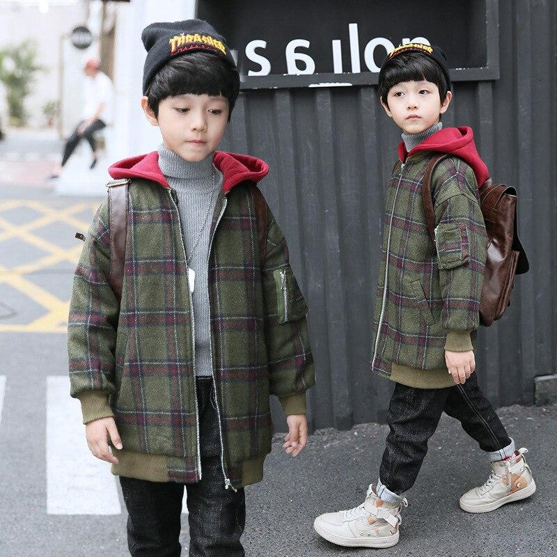 outono inverno ao ar livre jaquetas meninos 02