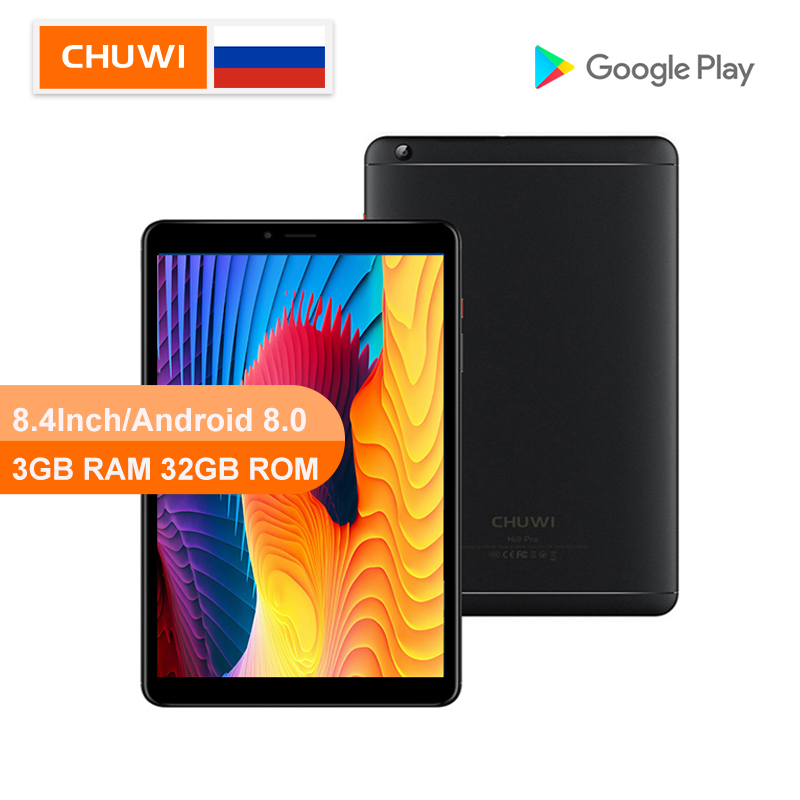CHUWI Original Hi9 Pro Android 8.0/8.1 Tablet PC MT6797 X20 Deca Core 3GB RAM 32GB ROM 2K Screen Dual 4G Tablet 8.4 Inch Tablet
