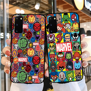 Cool Marvel spiderman Soft silicone TPU Phone Cover case for Samsung S20Ultra S7 S8 S9 S10 S20Plus S10Lite S7Edge Fundas Copue