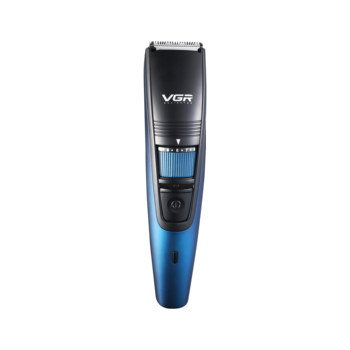 New VGR Electric Professional Hair Trimmer Rechargeable Cordless For Men Beard Trimmer  Razor Trimmers Barber Haircut Cutter professional hair trimmer body face clipper usb electric hair clippers men cordless beard razor trimmers barber haircut cutter