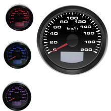 Speedometer-Gauge Marine-Truck 85mm Digital Auto GPS Waterproof for with 7-Colors Backlight