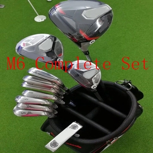 M6 Full Set Golf Driver 3#5# fairway woods M6 irons golf putter headcover wrench 12pcs New Complete Set