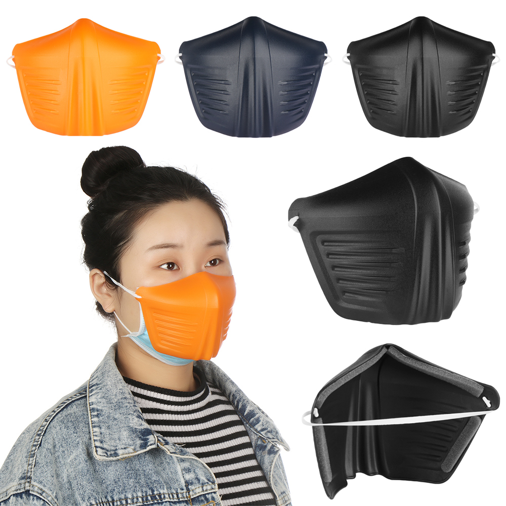 1Pcs Anti Dust Face Shield Isolated Mask Plastic Antifog Seal Mouth Hood Personal Health Care Protective Innrech Market.com