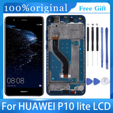 5.2 'LCD dla Huawei P10 Lite wyświetlacz LCD z ekranem dotykowym Digitizer montaż z ramą wymiana WAS-LX1 WAS-LX1A WAS-LX2 WAS-LX3