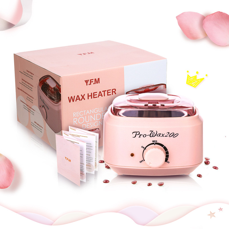 Hair Removal Tool Smart Professional Wax Heating Machine SPA Hands Feet Depilatory Skin Care Paraffin Wax Machine Kit Epilator