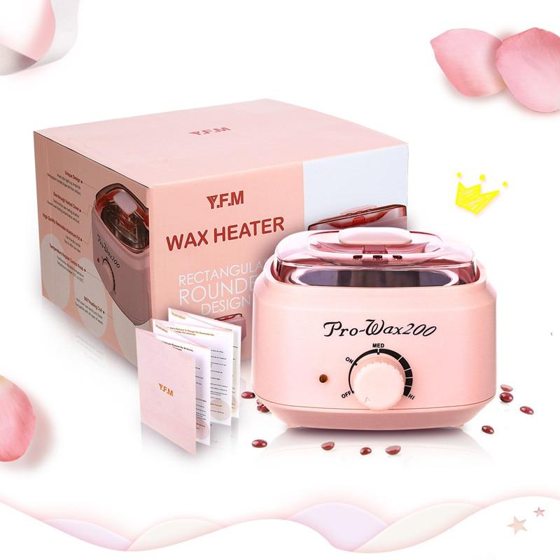 Hair Removal Tool Smart Professional Wax Heating Machine SPA Hands Feet Depilatory Skin Care Paraffin Wax Machine Kit Epilator