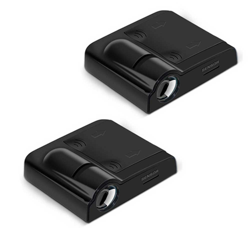 2pcs Wireless <font><b>Car</b></font> Door Led Welcome <font><b>Light</b></font> Logo No Drill Type Projector Lamp <font><b>Light</b></font> for Bmw Benz Volkswagen Audi Honda Toyota Ford image