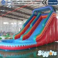OEM Inflatable Slide Jumper Pool Inflatable Water Slide For Water Park Game
