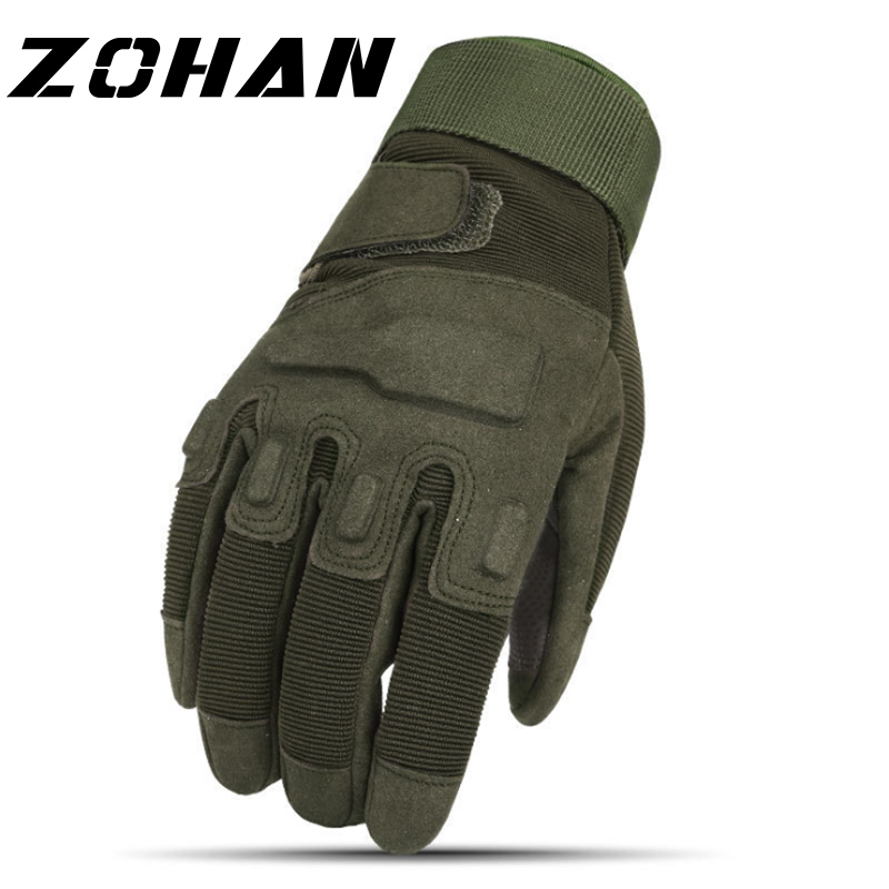 Combat Tactical Full Finger Gloves Military Army Fingerless Mittens Airsoft Warm Anti-slip Riding Bicycle Outdoor Bionic Sports