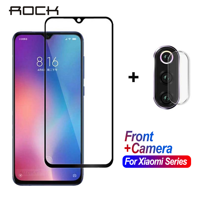 ROCK For <font><b>Xiaomi</b></font> <font><b>Mi</b></font> <font><b>9</b></font> A3 Lite Tempered <font><b>Glass</b></font> Safety Camera <font><b>Screen</b></font> <font><b>Protector</b></font> <font><b>Glass</b></font> For <font><b>Xiaomi</b></font> <font><b>Mi</b></font> <font><b>9</b></font> Se 9T Redmi Note 7 8 Pro Film image