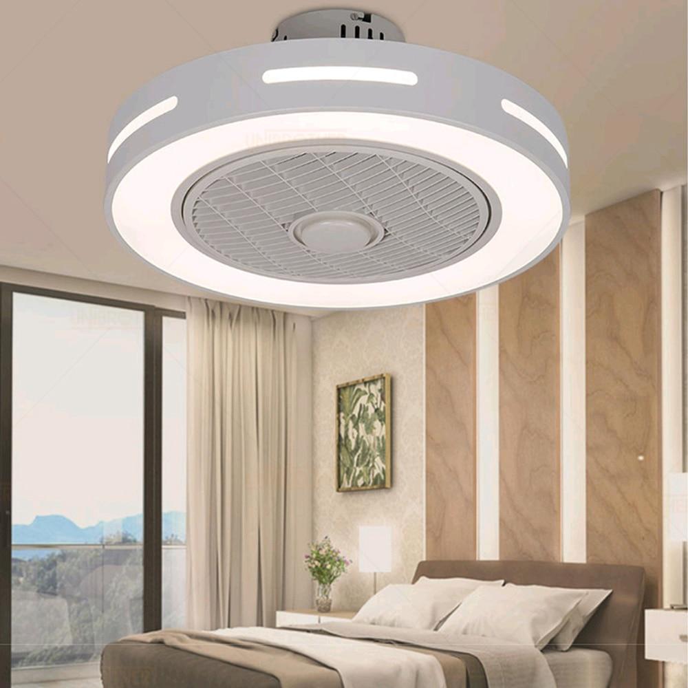 sala de estar ventilador teto com luz bluetooth led inteligente suporte de controle remoto aplicativo do