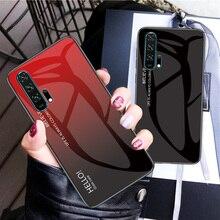 Чехол для Honor 20Pro, чехол для Huawei Honor 20 Pro с градиентным закаленным стеклом, ударопрочный чехол для Huawei Honor 20s V30 Pro View 30