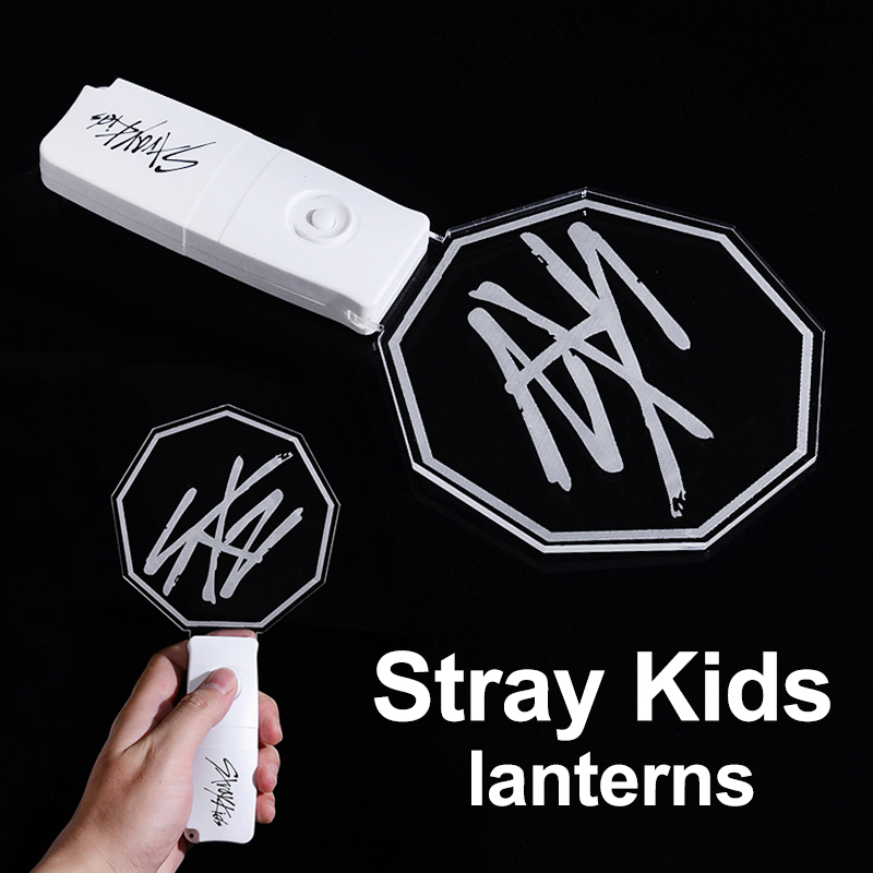 Stray Kids Concert Lightstick Bangchan Felix Fan Light Stick Glowing Lamp