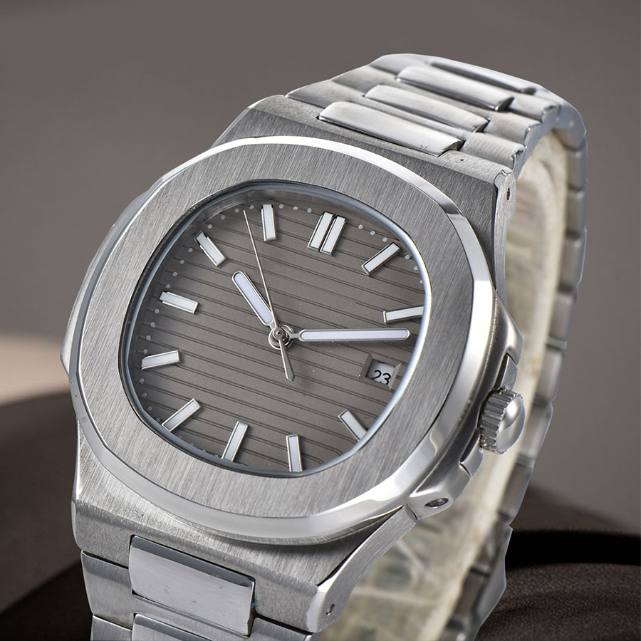 watch men automatic mechanical watch Luminous waterproof date 316L Solid stainless steel 41MM LM9