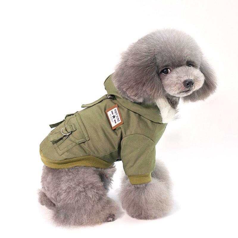 Купить повседневная толстая хлопковая одежда для домашних животных