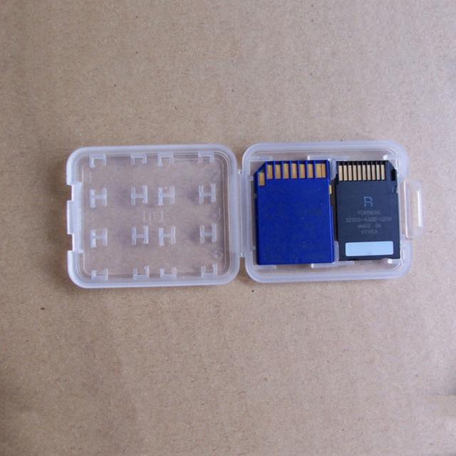 1 PC Hard Micro SD SDHC TF MS Memory Card Storage Box Protector Holder Hard Case Memory Card Storage Box 2