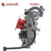 Alconstar Motorcycle Keihin FCR 41mm Carburetor Horizontal Flatslide Racing Carburedor for CB1000 GSXR750 GSXR1100 ZX 900