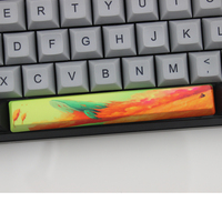 87 PBT Keycaps Dye Sub Cherry And Oem Profile Spacebar 6.25U For Mechanical Keyboard 104 87 60 Cherry Blossom Chinese Style Pattern (4)