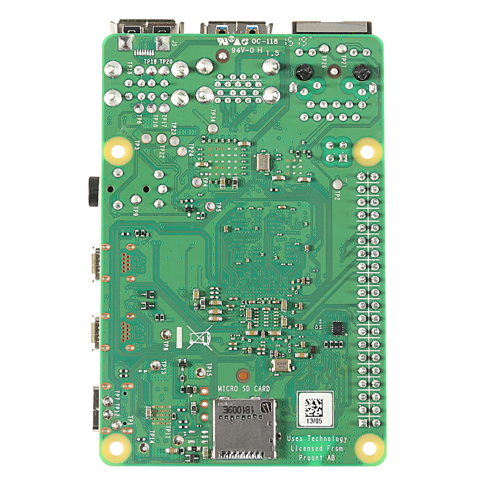 raspberry pi 2019 Raspberry Pi 4 Model B With 1/2/4GB Ram Bcm2711 Quad Core Cortex-a72 Arm V8 1.5ghz Support 2.4/5.0 Ghz Wifi Bluetooth 5.0 (3)