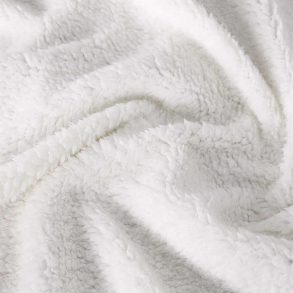 3D 디즈니 만화 담요 아름다움과 야수 침구 침대 소파 Sherpa 양털 담요 소녀 어린이 어린이 선물