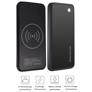 Image 4 - For iPhone 11 11 Pro 11 Pro Max Case 5000mAh 2 In 1 Gradient Magnetic PowerBank Wireless Charger Case For iPhone 11 Battery Case