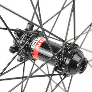 Image 4 - エリートカーボンホイールカーボン mtb ホイール 29 ノバテック D411 ストレートプルハブ炭素ホイールセット 29er mtb ホイール 30 ミリメートル幅自転車ホイール