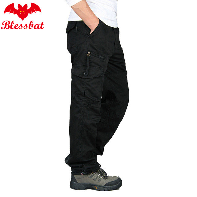 New Cargo Pants 2019 For Men With Multiple Pockets, Military Tactical Pants, Casual Men's Long Pants, Streetwear, Straight Army