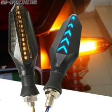 2019 Motorcycle Turn signals waterproof motocross LED direction lamp for kawasaki z800 z900 z650 ninja 200 300 z1000 er-6n