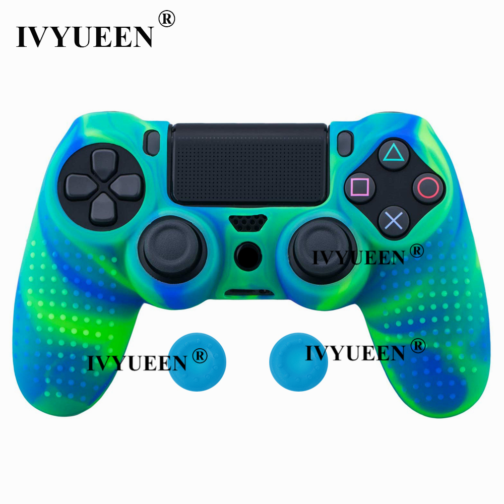 for Sony PlayStation dualshock 4 ps4 pro slim controller silicone case skin 15