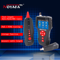 NF 8601 Multi functional Network Cable Tester LCD Cable length Tester Breakpoint Tester Cable checker Telephone checker RJ45