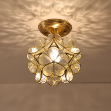 Mini Pendant Lights Gold Glass Hanging Lamp Loft For Bedroom Kitchen Study E27 Modern Home Deco Hanglamp Ceiling Pendant Lamp цена в Москве и Питере