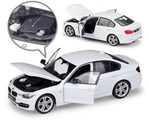 Image 3 - WELLY 1:24 ölçekli Diecast simülatörü modeli araba BMW 335i/535i klasik araç Metal alaşım oyuncak araba erkek çocuklar için hediye koleksiyonu