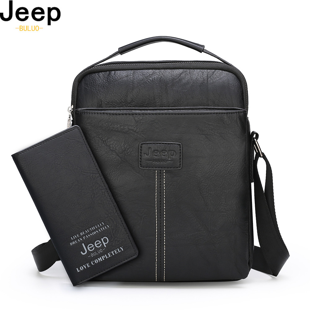 Messenger Men Bags Tote Crossbody-Shoulder-Bag Jeep Buluo Work Office Fashion Famous-Brand