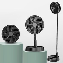 Folding Fan Portable Desk-Table-Floor Travel-Stand Adjustable-Height 4-Speed To From-38cm
