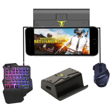 MeterMall Phone Gamepad Android Pubg Controller Gaming Keyboard Mouse To PC Converter Adapter for IPhone g1x phone gamepad android pubg controller gaming keyboard mouse to pc converter adapter for iphone free shipping and gift