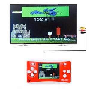 Image 5 - Портативные игровые системы Wolsen 2,5 дюйма со встроенными играми, 152 игры для детей, 8 битная видеоигра
