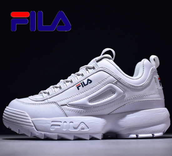 FILA Disruptor II 2 Generations Men Sneakers Large Serrated Thick Raised Shoes Men Running Shoes 13 Colors