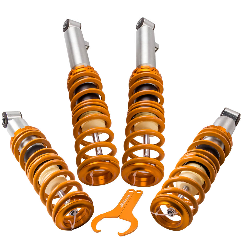 Front High Quality 98/>05 *New* Spring /& Bumpstop Mazda MX5 MK2 Shock Absorber