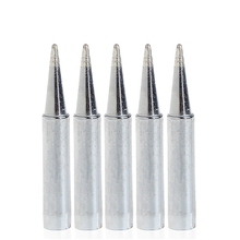 цена на 5Pcs Replacement Solder Soldering Iron Tip For Hakko 936 Station 900M-T-BDrop ship