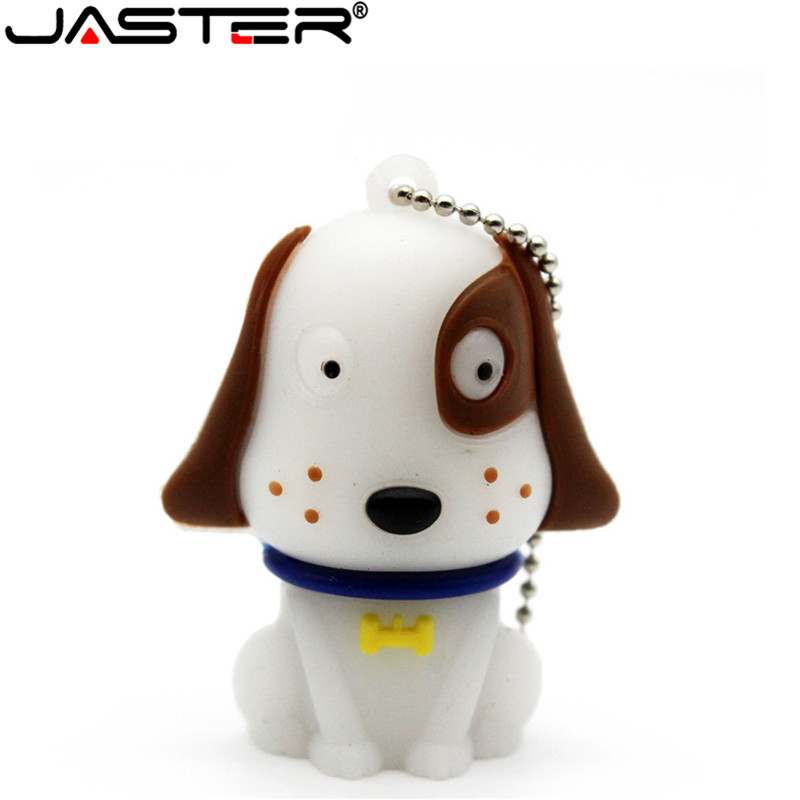 JASTER Cartoon Pendriver White Cute Dog Dalmatians Pen Drive 64gb 16gb 32gb Usb 2.0 USB Flash Drive Memory Stick Gift Pendrive
