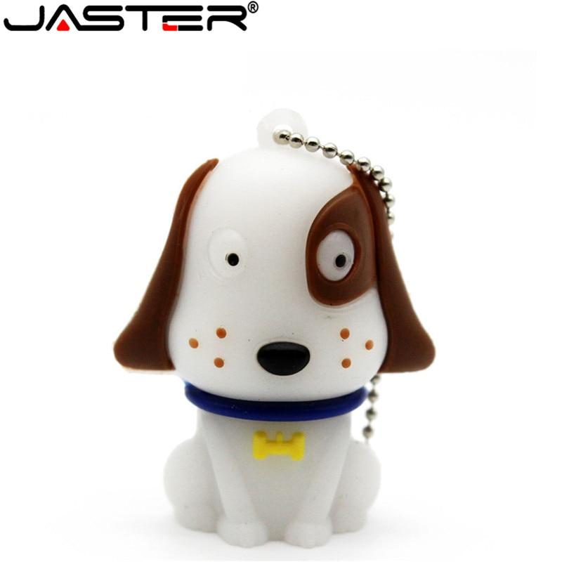 JASTER Cartoon Pendriver White Cute Dog Dalmatians Pen Drive 64gb 16gb 32gb Usb 2.0 USB Flash Drive Memory Stick Gift Pendrive