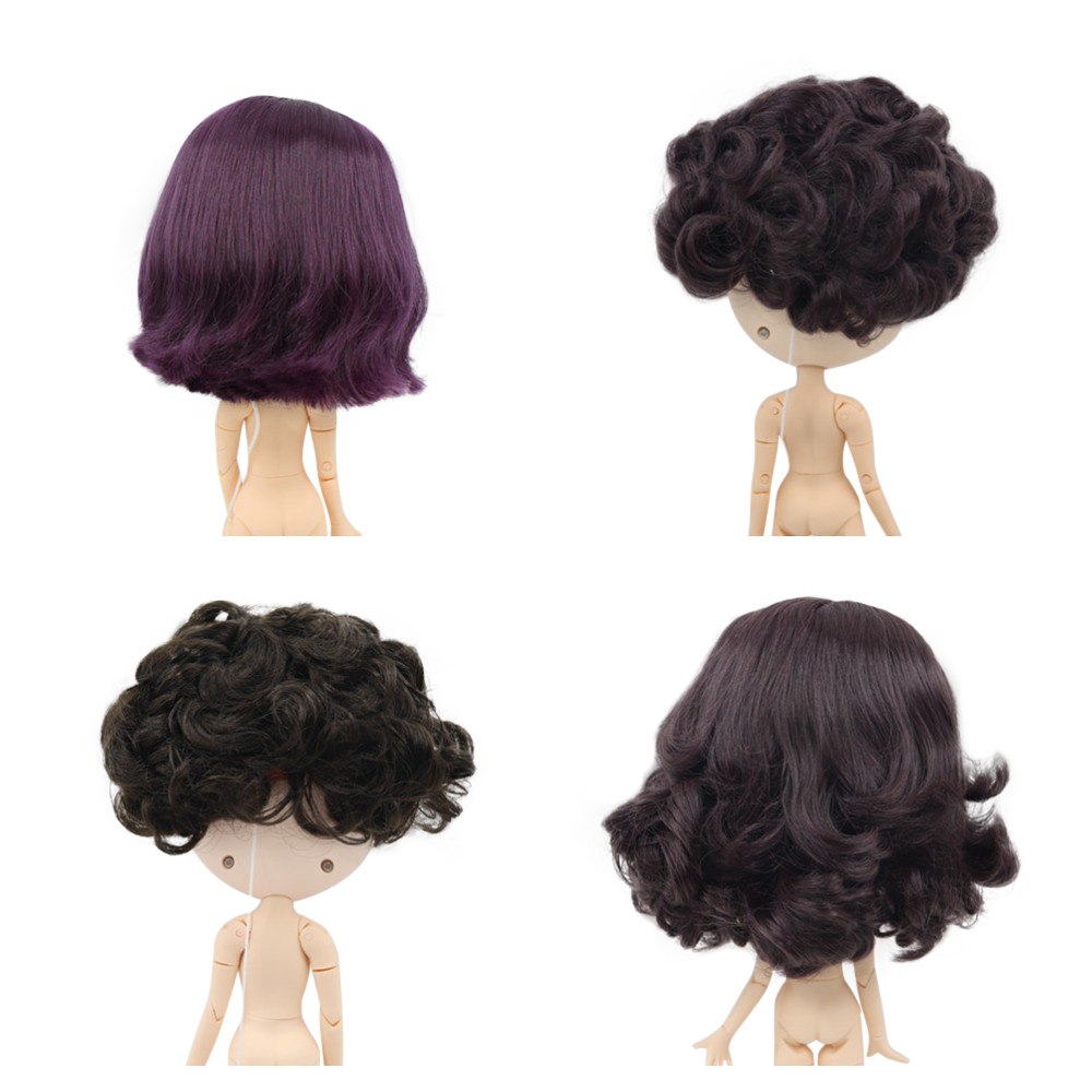 Obitsu Body 27cm Body-Flocked Head 02 Natural Shining Brown