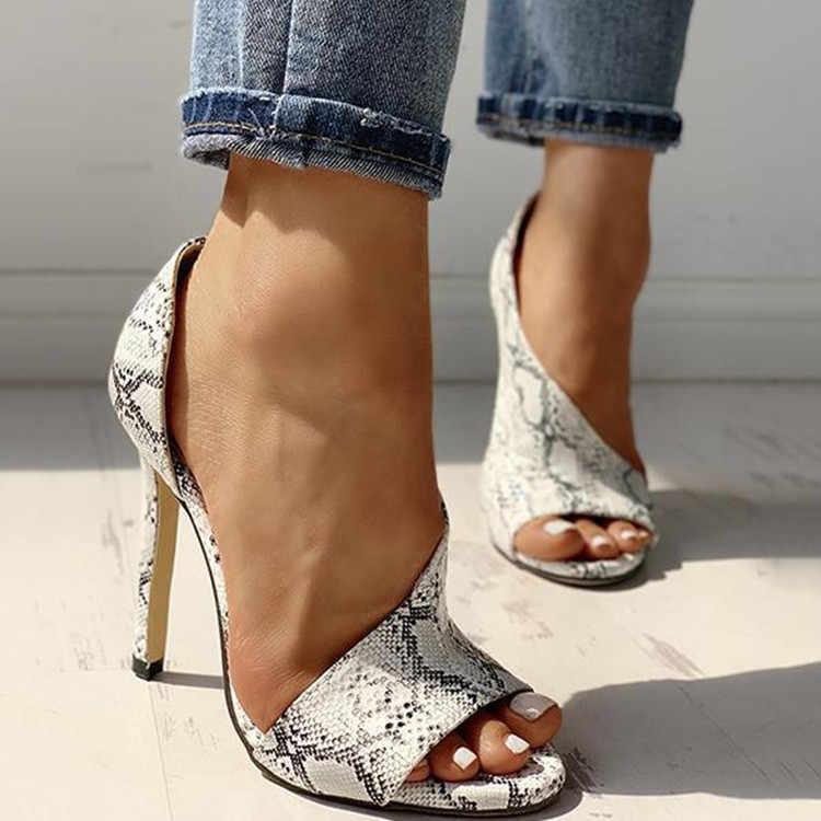 2020 NEUE High Heels Sandalen Sommer Sexy Ankle Strap Offene spitze Gladiator Party Kleid Frauen Schuhe Zapatos De Mujer