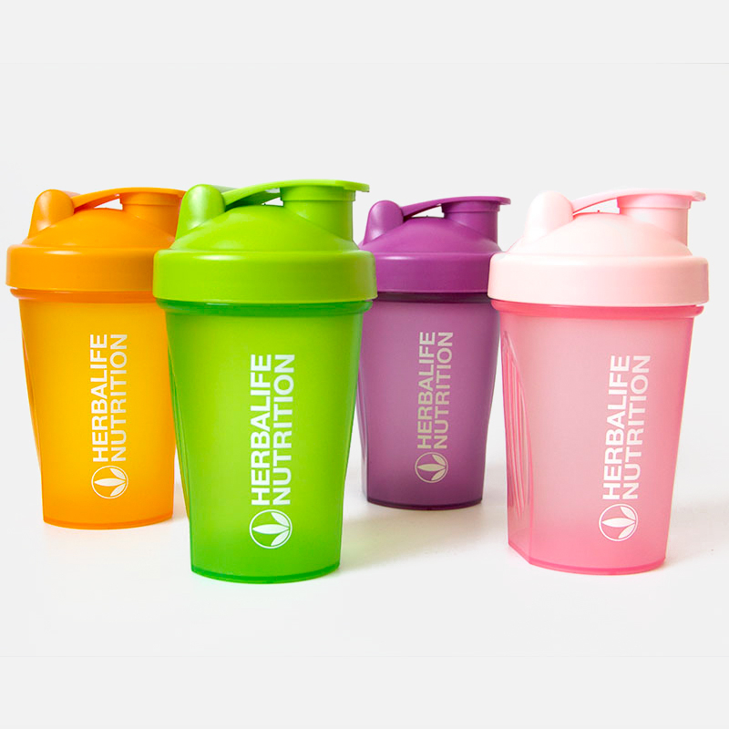 Plastic Herbalife Nutrition Water Bottle Portable Leak Proof Drink Bottle 400ml/600ml Sports Drink Bottle With Protein Shaker