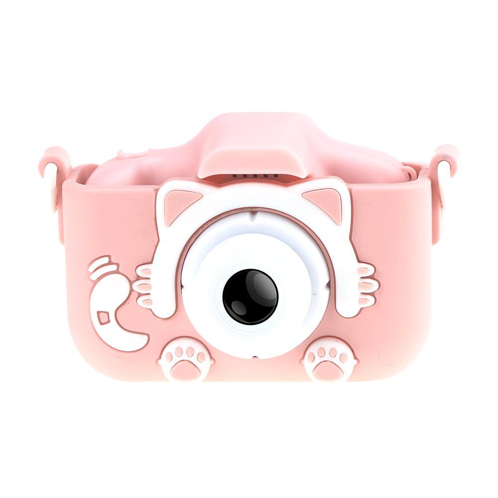 H8221f8e45816420e92005910d53f4749Z Mini Cartoon Kids Camera Creative Children's Camera HD Digital Camera Portable 1080P Camera For Kids Birthday Christmas Gift