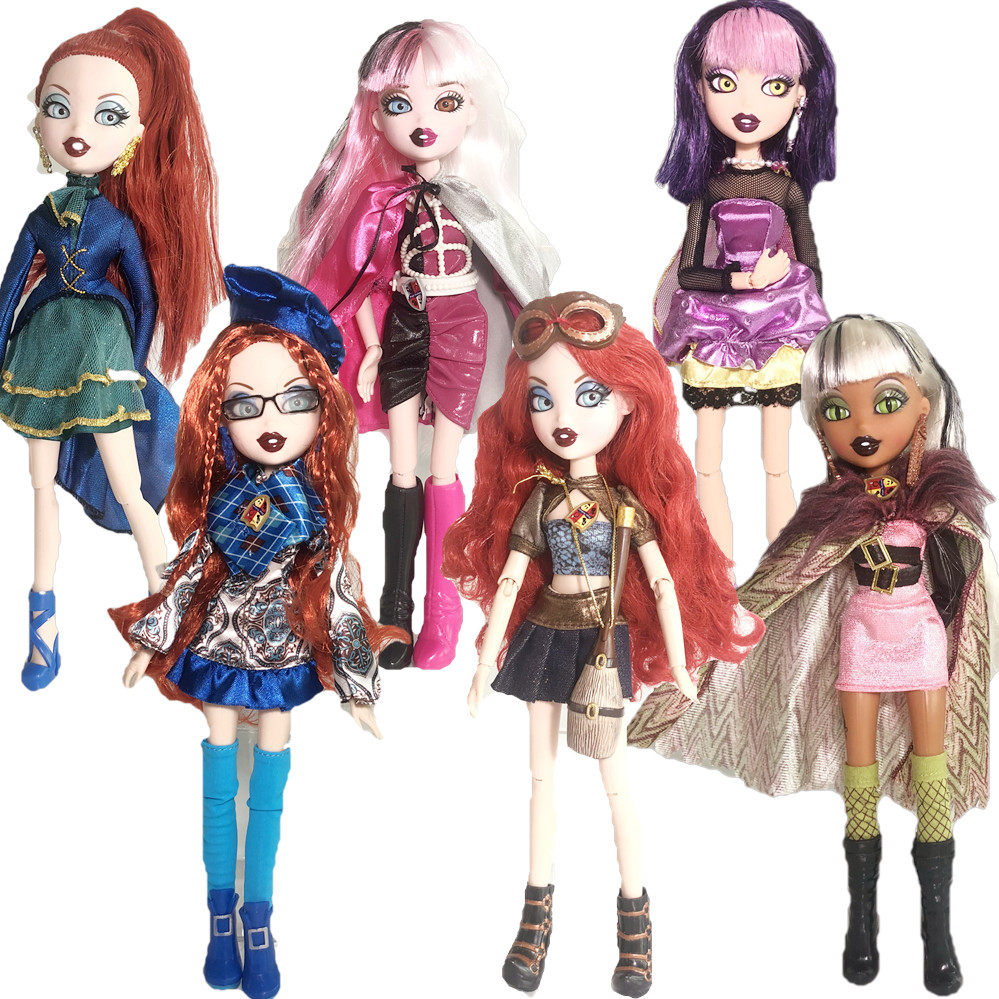 Original Dolls 3D Eyes Mgadoll Mutant Girl Fashion Multiple Joints Rare BratzDoll And Beautiful Clothes Dress Up Doll Best Gift