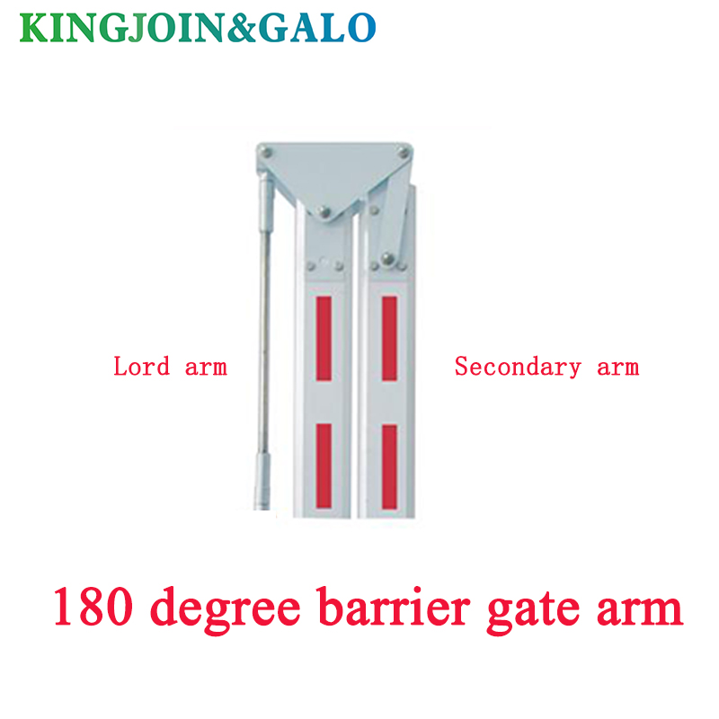 180 Degree Barrier Gate Arm /automatic Gate Barrier Boom Free Elongation Barrier Gate Straight Boom