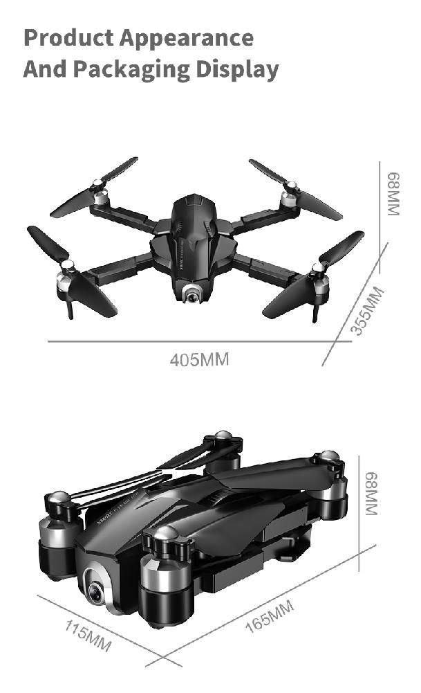 GPS RC Drone M8 5G WIFI FPV 4K Ultra HD Camera GPS Optical Flow Positioning Quadcopter Pro Selfie Camera Fly 28 MinsVS F11 SG906