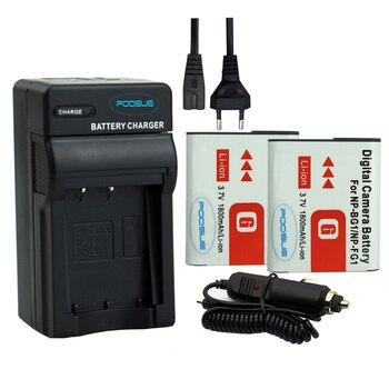 2 sztuk NP-BG1 NP BG1 aparat bateria + ue/usa ładowarka + samochód adapter do sony HX10 W30 DSC-W210 W100 W110 W120 H10 0036 np-bg1